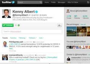 The official Twitter page of Kenny Albert